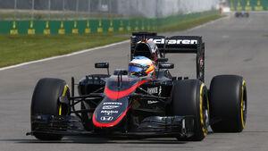 Fernando Alonso - McLaren - Formel 1 - GP Kanada - Montreal - 5. Juni 2015