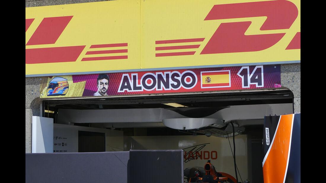 Fernando Alonso - McLaren - Formel 1 - GP Kanada  - Montreal - 7. Juni 2017