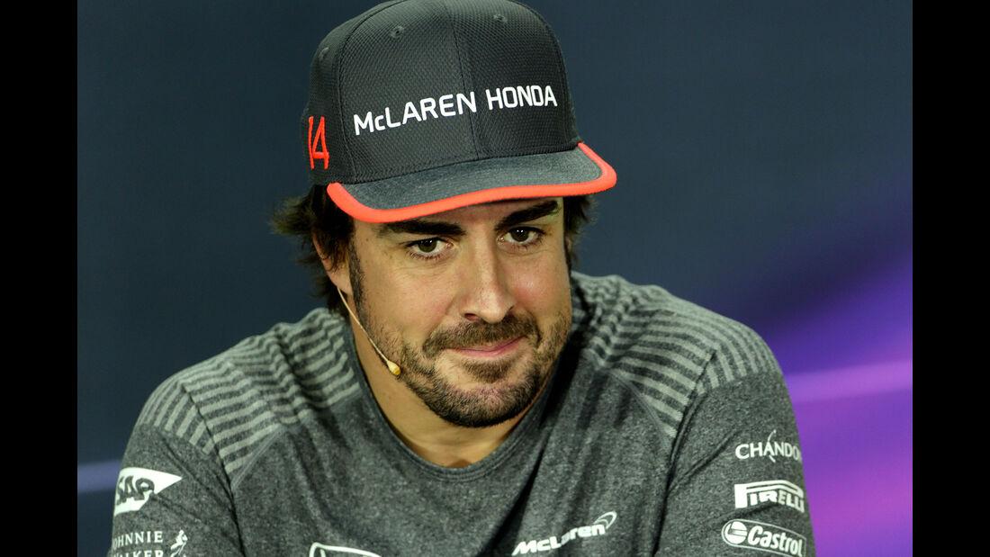 Fernando Alonso - McLaren - Formel 1 - GP Kanada - Montreal - 8. Juni 2017