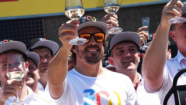 Fernando Alonso - McLaren - Formel 1 - GP Kanada - Montreal - 8. Juni 2018
