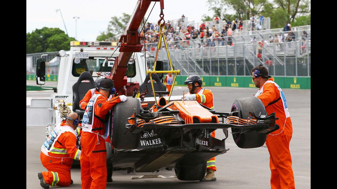 Fernando Alonso - McLaren - Formel 1 - GP Kanada - Montreal - 9. Juni 2017