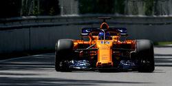 Fernando Alonso - McLaren - Formel 1 - GP Kanada - Montreal - 9. Juni 2018