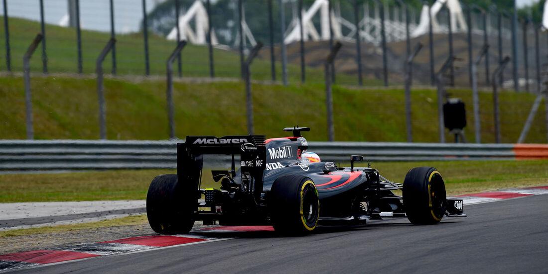 Fernando Alonso - McLaren - Formel 1 - GP Malaysia - Qualifying - 1. Oktober 2016