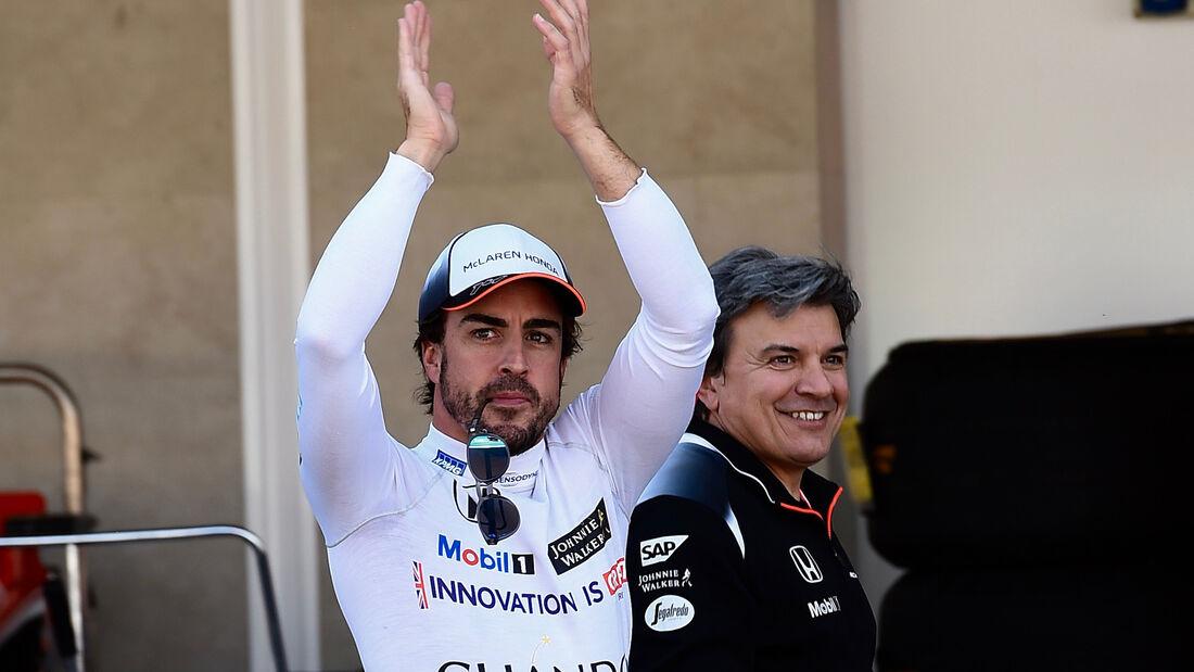 Fernando Alonso - McLaren - Formel 1 - GP Mexiko - 29. Oktober 2016