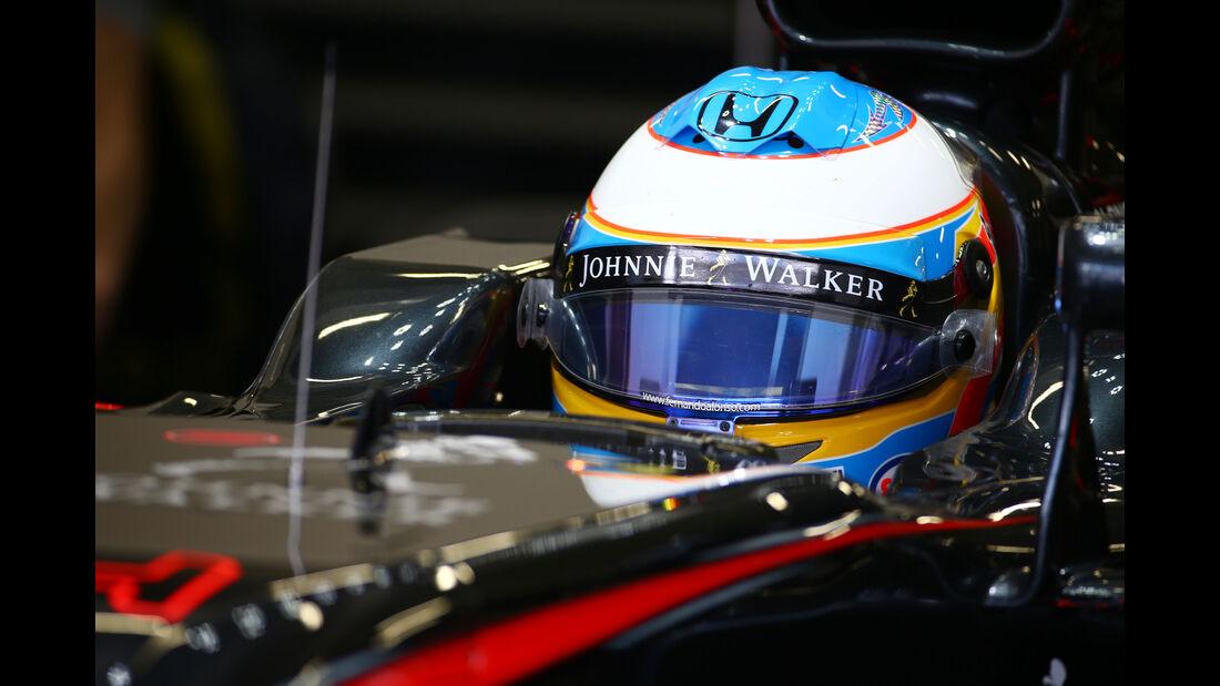 Fernando Alonso - McLaren - Formel 1 - GP Mexiko - 30. Oktober 2015