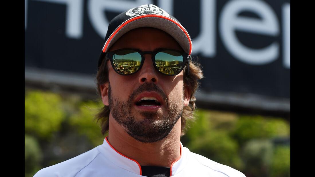 Fernando Alonso - McLaren - Formel 1 - GP Monaco - 27. Mai 2016
