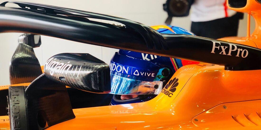 Fernando Alonso - McLaren - Formel 1 - GP Österreich - 29. Juni 2018