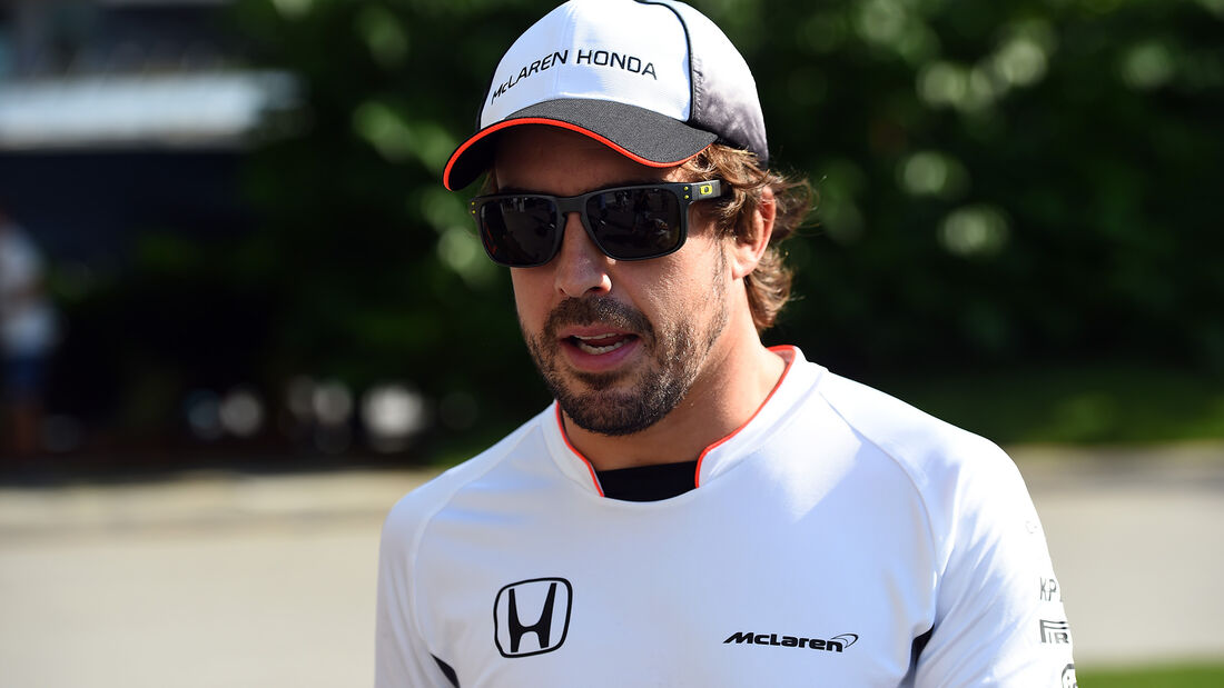Fernando Alonso - McLaren - Formel 1 - GP Singapur - 15. Septemberg 2016