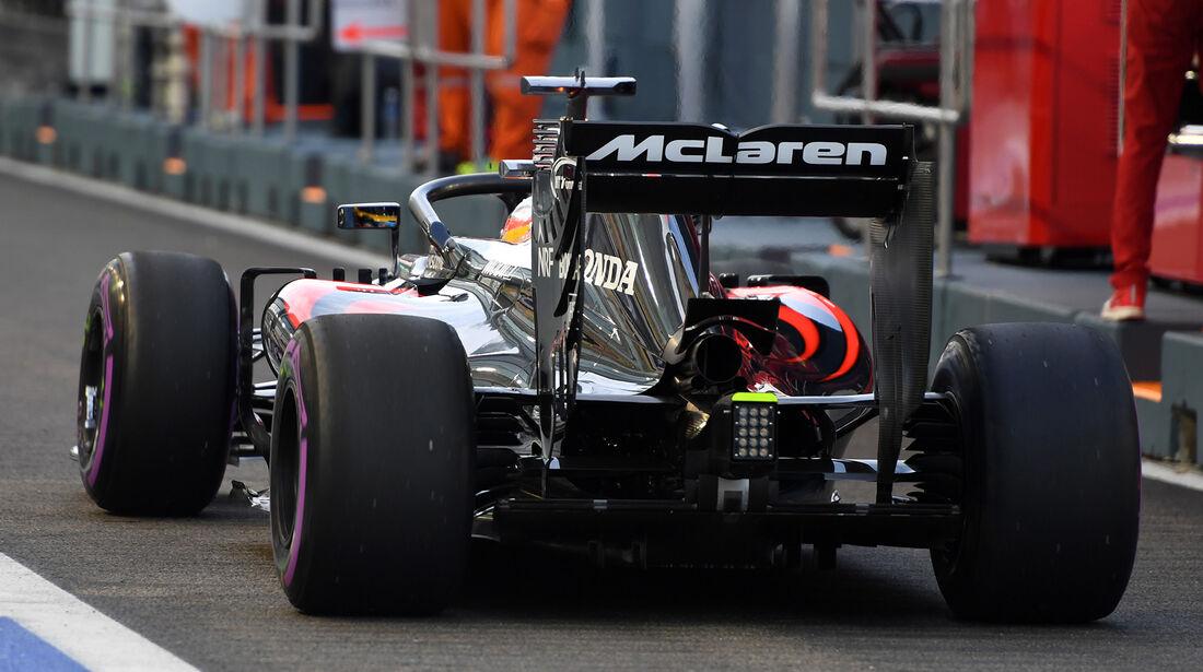 Fernando Alonso - McLaren - Formel 1 - GP Singapur - 16. September 2016