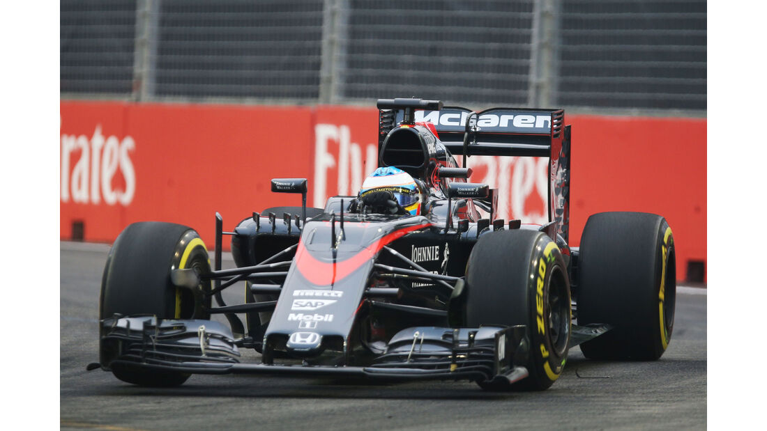 Fernando Alonso - McLaren - Formel 1 - GP Singapur - 18. September 2015