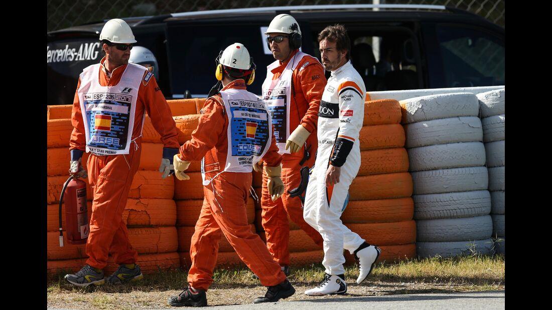 Fernando Alonso - McLaren - Formel 1 - GP Spanien - 12. Mai 2017