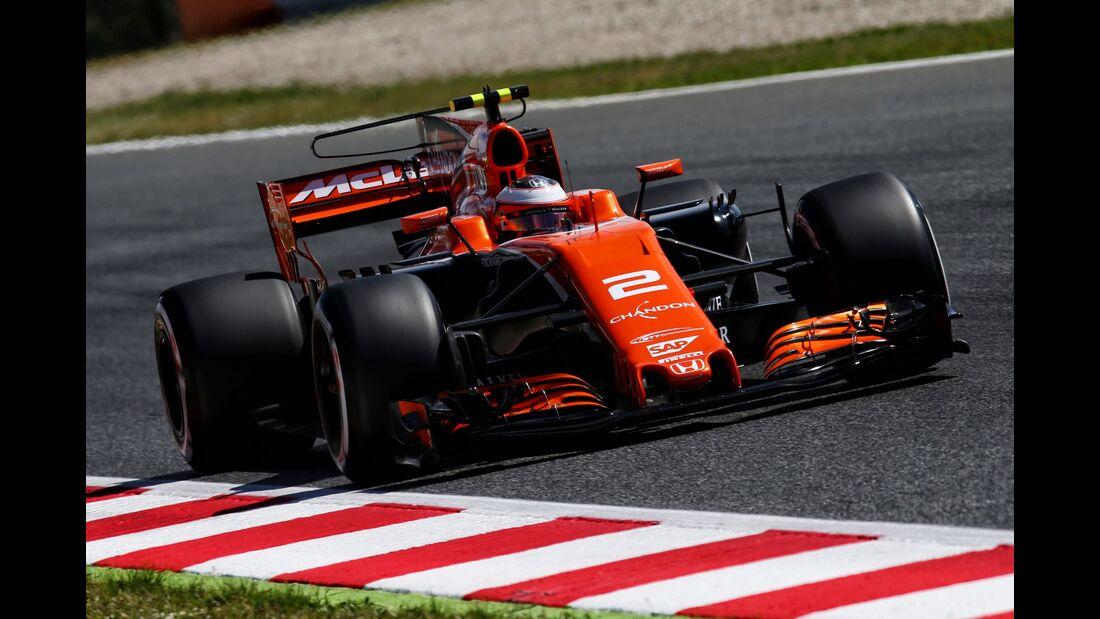 Fernando Alonso - McLaren - Formel 1 - GP Spanien - 13. Mai 2017