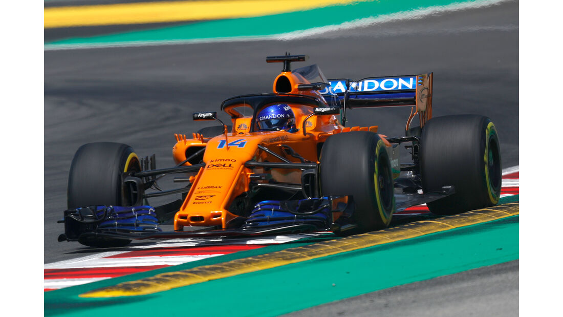 Fernando Alonso - McLaren - Formel 1 - GP Spanien - Barcelona - 11. Mai 2018