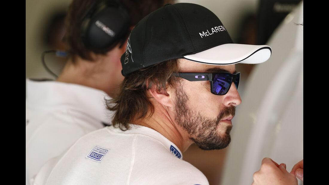 Fernando Alonso - McLaren - Formel 1 - GP Spanien - Barcelona - 8. Mai 2015