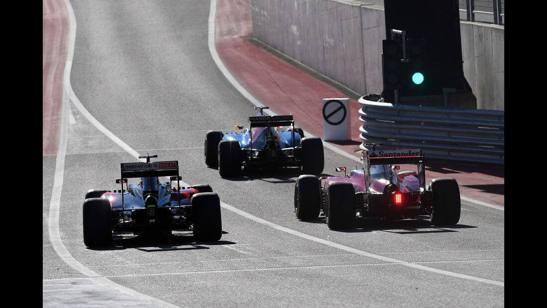 Fernando Alonso - McLaren - Formel 1 - GP USA - Austin - 21. Oktober 2016