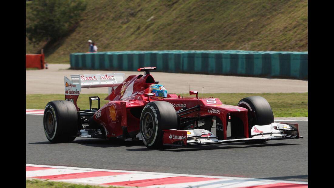 Fernando Alonso - McLaren - Formel 1 - GP Ungarn - Budapest - 28. Juli 2012
