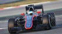 Fernando Alonso  - McLaren - Formel 1-Test - Barcelona - 19. Februar 2015