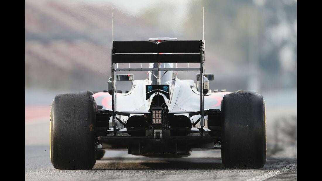 Fernando Alonso - McLaren - Formel 1-Test - Barcelona - 25. Februar 2016