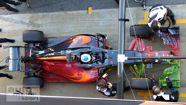 Fernando Alonso - McLaren - Formel 1-Test - Barcelona - 3. März 2016
