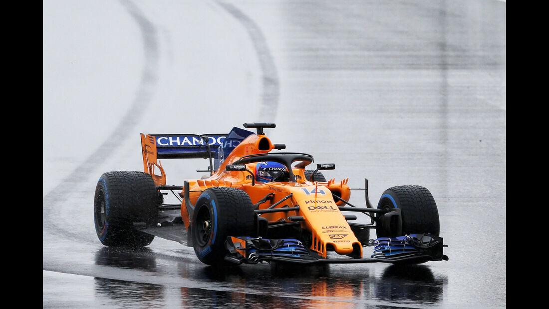 Fernando Alonso - McLaren - Formel 1 - Test - Barcelona - Tag 3 - 28. Februar 2018