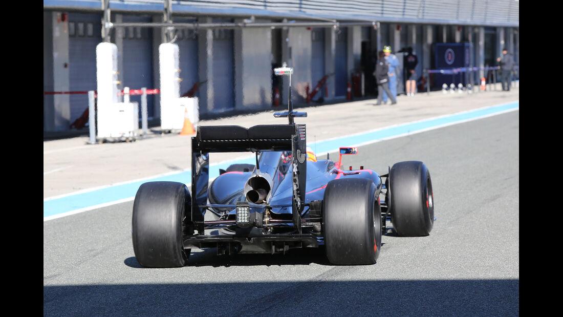 Fernando Alonso - McLaren - Formel 1-Test Jerez - 1. Febraur 2015