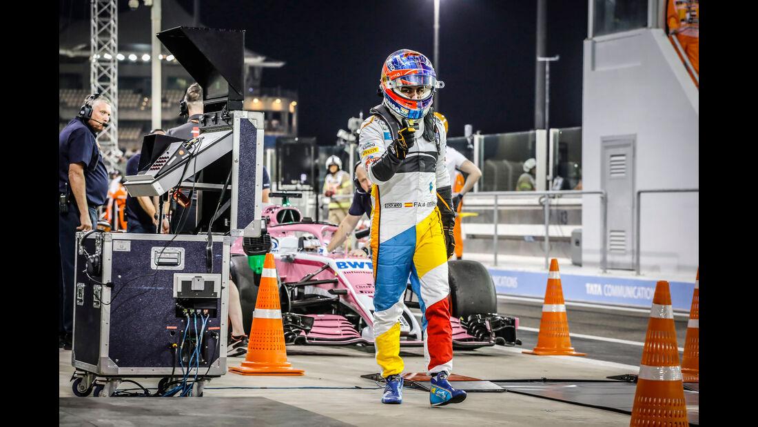 Fernando Alonso - McLaren - GP Abu Dhabi 2018