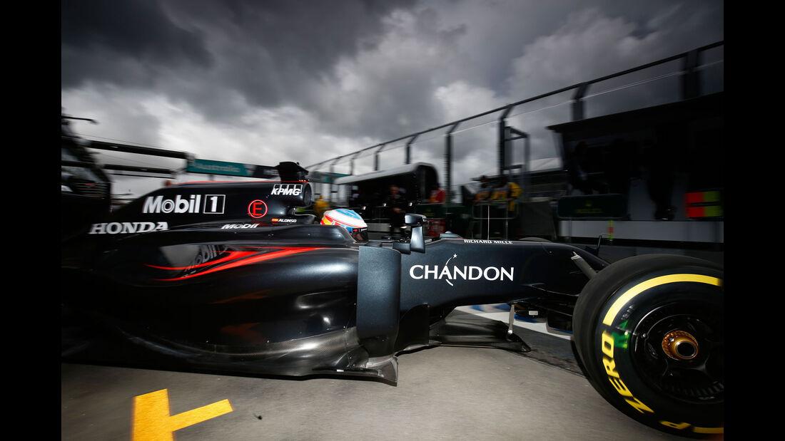 Fernando Alonso - McLaren - GP Australien 2016