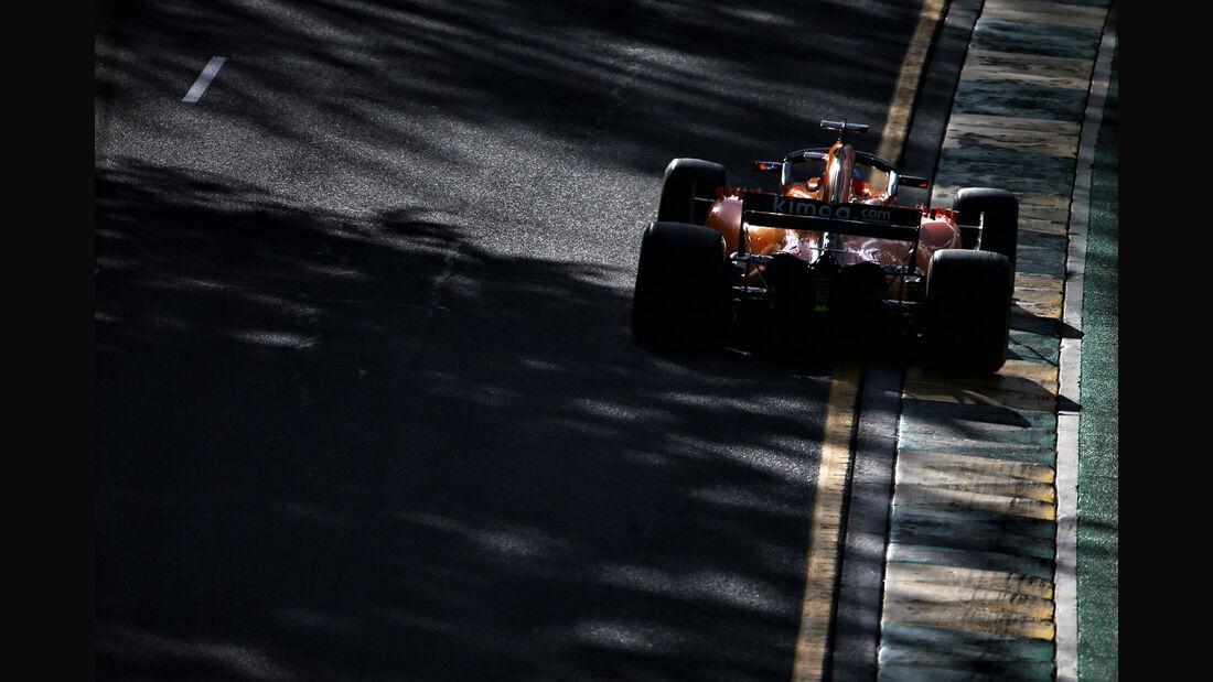Fernando Alonso - McLaren - GP Australien 2018 - Melbourne - Rennen