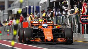 Fernando Alonso - McLaren - GP Australien - Melbourne - 24. März 2017