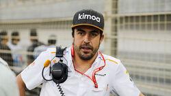 Fernando Alonso - McLaren - GP Bahrain 2019