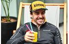 Fernando Alonso - McLaren - GP Brasilien - Interlagos - Formel 1 - Donnerstag - 8.11.2018