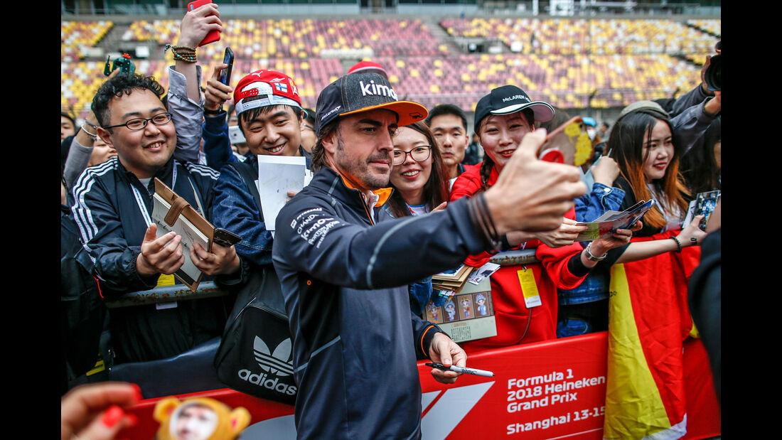 Fernando Alonso - McLaren - GP China 2018