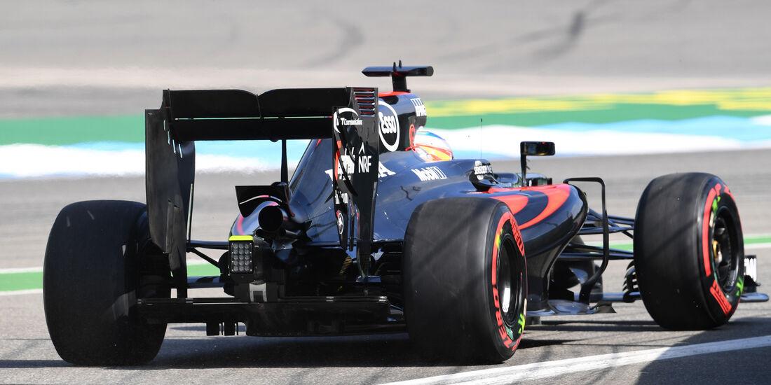 Fernando Alonso - McLaren - GP Deutschland - Formel 1 - 29. Juli 2016