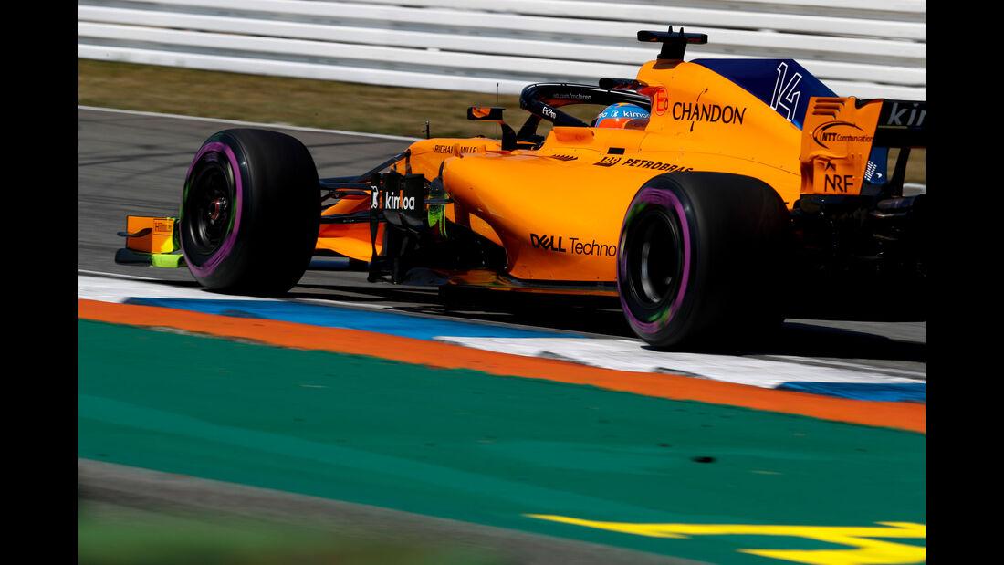 Fernando Alonso - McLaren - GP Deutschland - Hockenheim - Formel 1 - Freitag - 20.7.2018