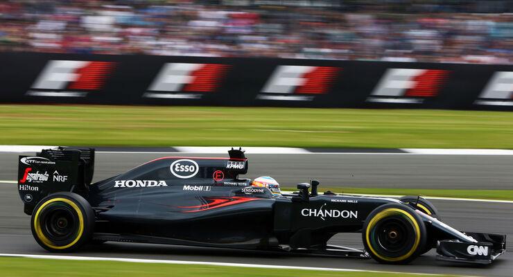 Fernando Alonso - McLaren - GP England 2016 - Qualifying