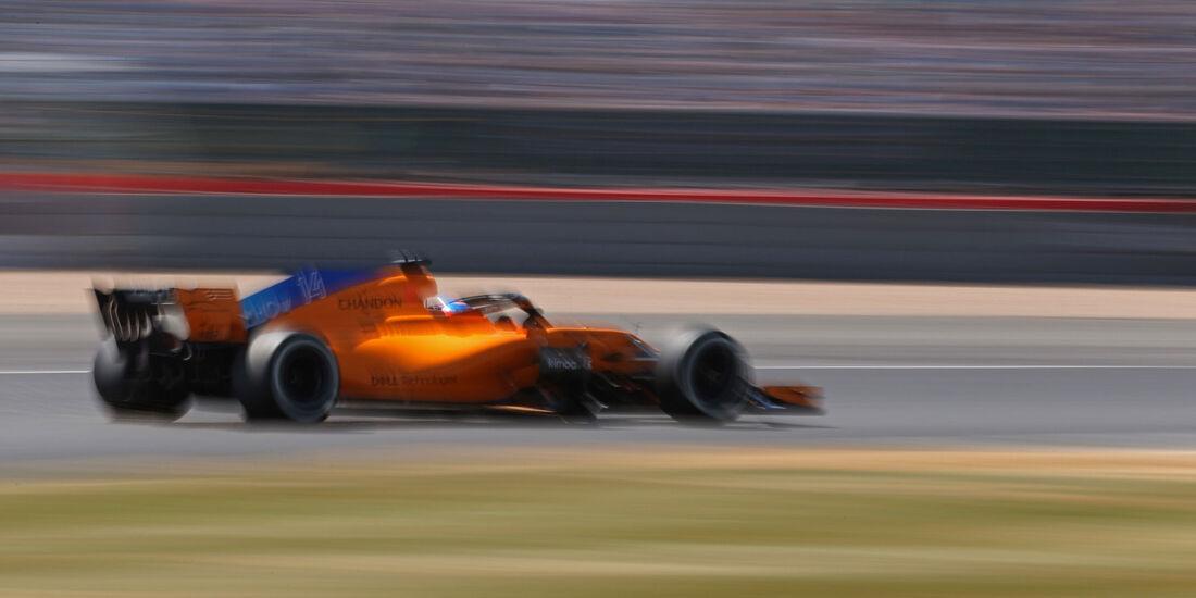 Fernando Alonso - McLaren - GP England - Silverstone - Formel 1 - Samstag - 7.7.2018