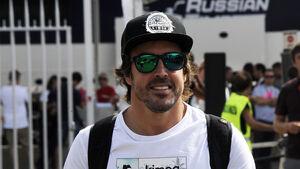 Fernando Alonso - McLaren - GP Italien - Monza - Formel 1 - 31. August 2017