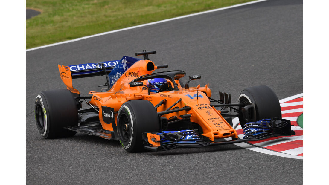 Fernando Alonso - McLaren - GP Japan - Suzuka - Formel 1 - Freitag - 5.10.2018
