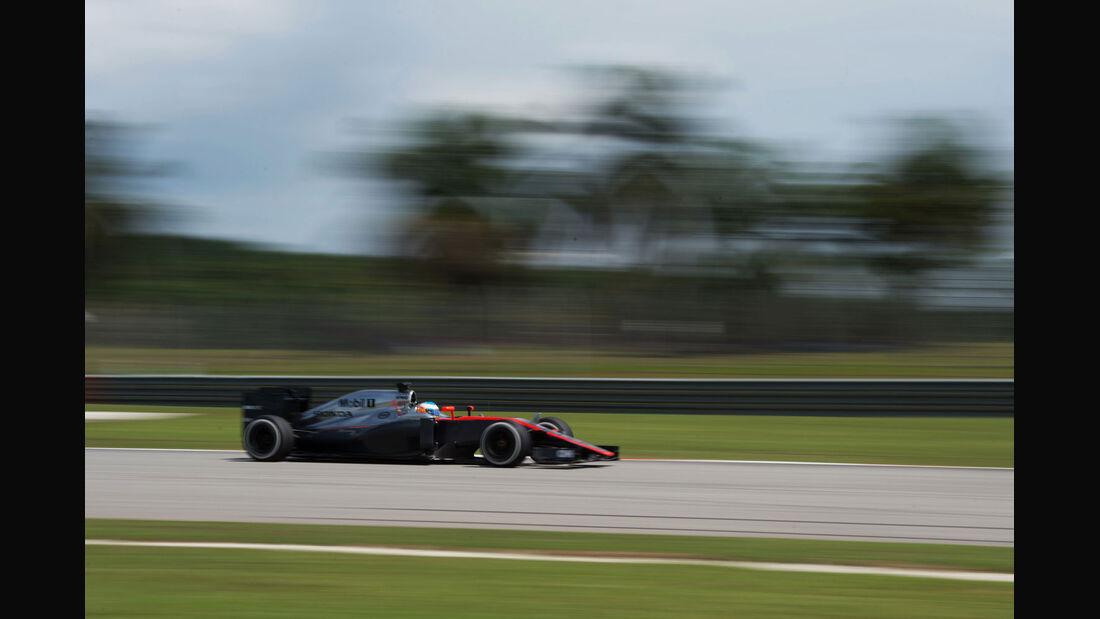 Fernando Alonso - McLaren - GP Malaysia 2015 - Formel 1