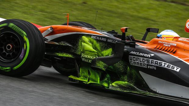 Fernando Alonso - McLaren - GP Malaysia - Sepang - 29. Oktober 2017