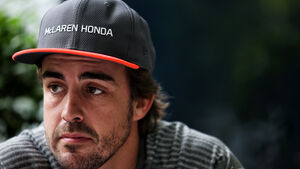 Fernando Alonso - McLaren - GP Malaysia - Sepang - Formel 1 - Donnerstag - 28.9.2017