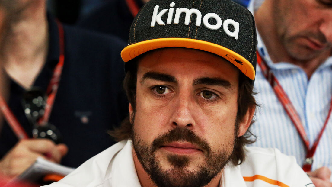 Fernando Alonso - McLaren - GP Monaco - Formel 1 - Mittwoch - 23.5.2018