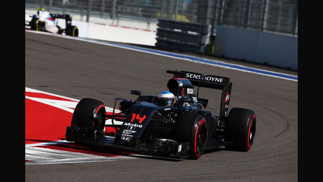 Fernando Alonso - McLaren - GP Russland 2016