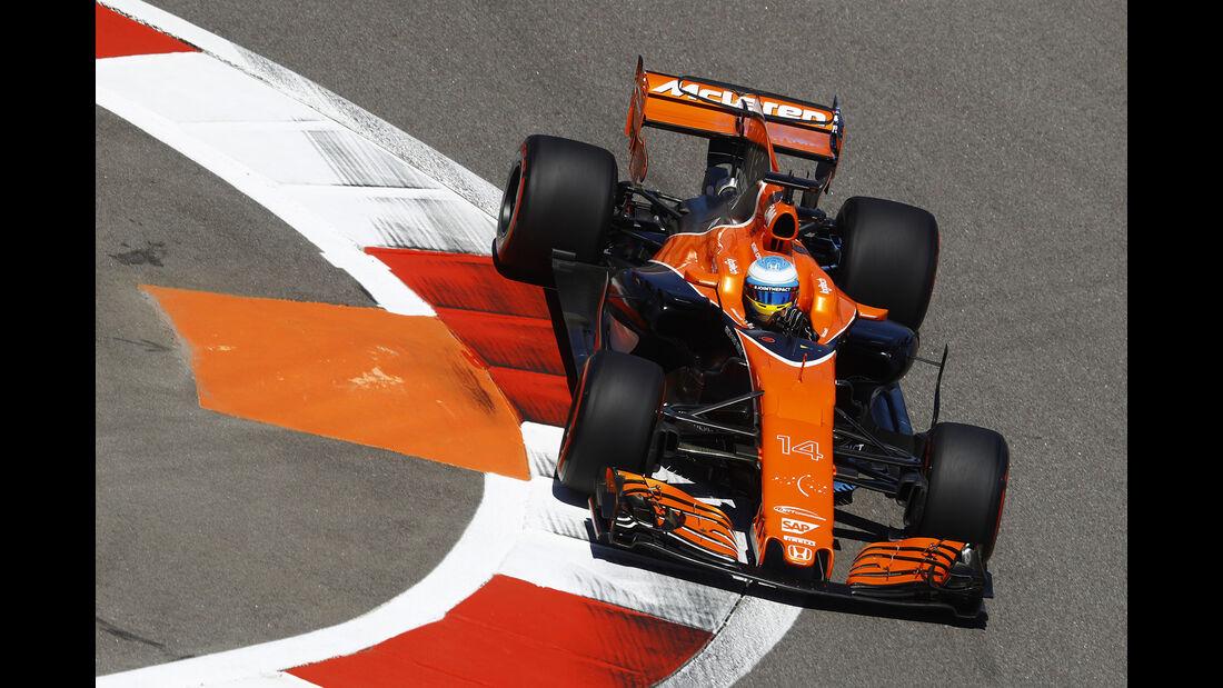 Fernando Alonso - McLaren - GP Russland 2017