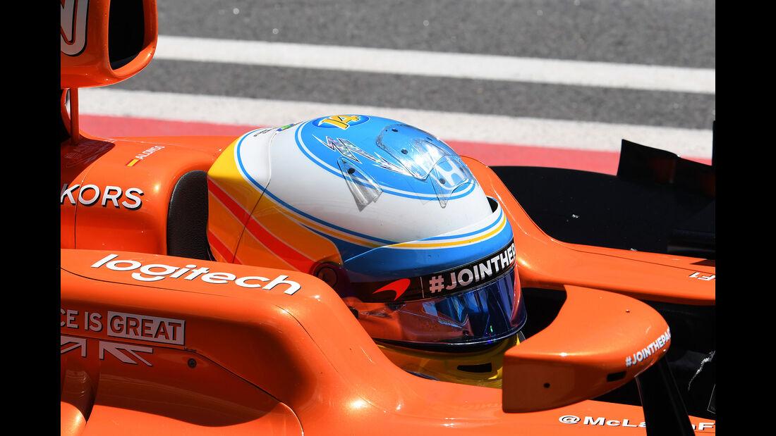 Fernando Alonso - McLaren - GP Russland - Sotschi  - Formel 1 - 28. April 2017