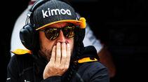 Fernando Alonso - McLaren - GP Russland - Sotschi - Formel 1 - Freitag - 28.9.2018