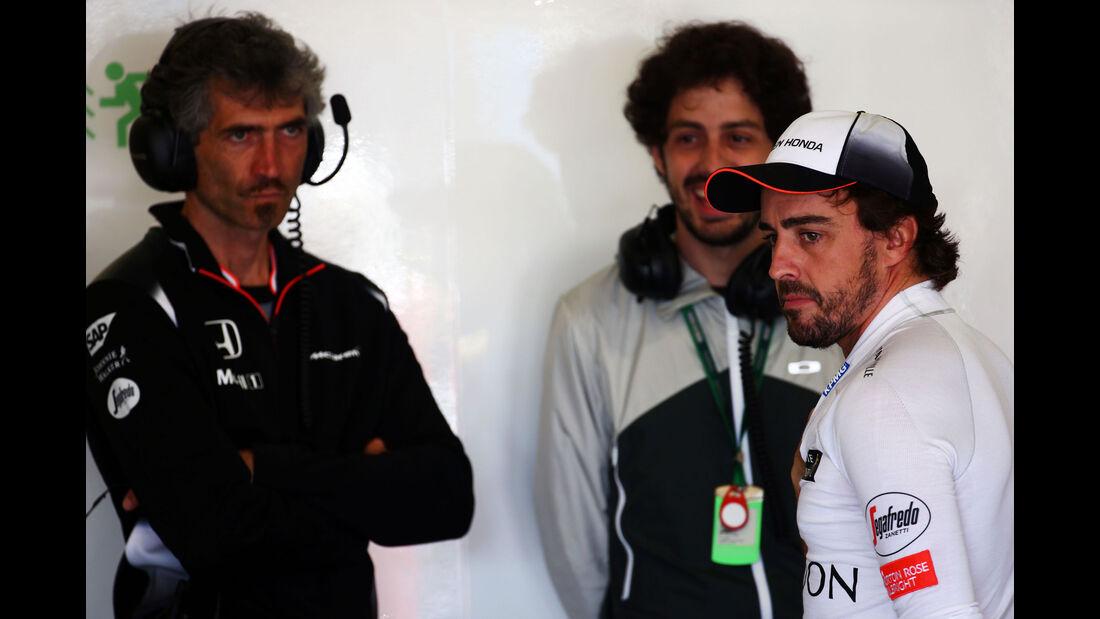 Fernando Alonso - McLaren - GP Spanien 2016 - Barcelona - F1 - Freitag - 13.5.2016