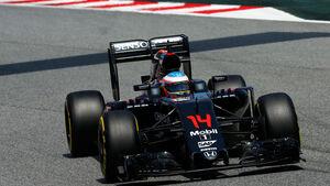 Fernando Alonso - McLaren - GP Spanien 2016 - Qualifying - Samstag - 14.5.2016
