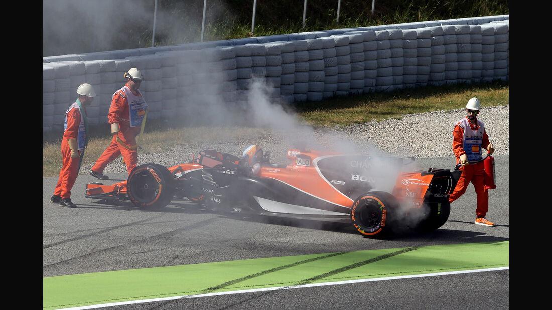 Fernando Alonso - McLaren - GP Spanien - Barcelona - 12. Mai 2017