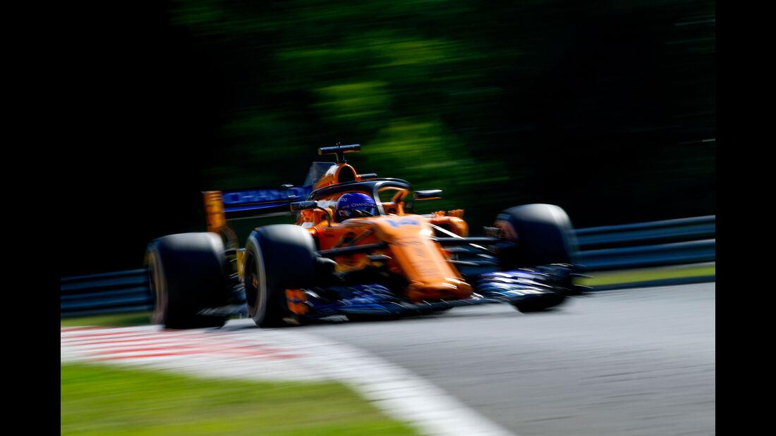 Fernando Alonso - McLaren - GP Ungarn 2018 - Budapest - Rennen